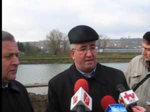 Consolidarea podului de la Burdujeni va fi gata la sfarsitul lunii noiembrie