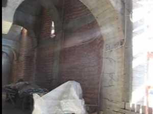 Lucrarile la Catedrala Nasterea Domnului au inaintat vizibil in acest an