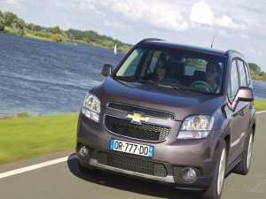 Chevrolet Orlando se lansează în martie 2011 de la 18.990 de euro