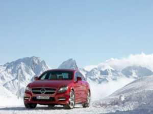 Mercedes introduce tracțiunea integrală pe noul CLS
