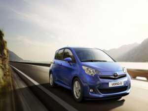 Toyota va lansa la primăvară noul Verso-S de la 14.950 de euro