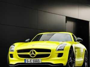 Mercedes SLS AMG E-Cell este soluția: 100% sportiv, 100% ecologic