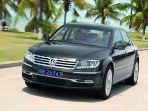 Volkswagen Phaeton cu un pas mai aproape de clasa lux