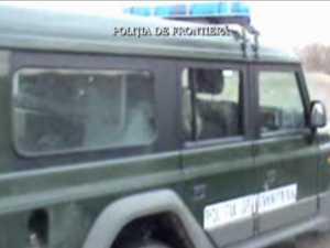 Traficant de ţigări, împuşcat la graniţa cu Ucraina