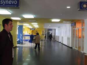 Acces modificat în Spitalul Suceava, din cauza schimbării locaţiei Laboratorului Synevo