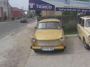 Parcul auto cu Trabanturi, averea fără de preţ a unui sucevean