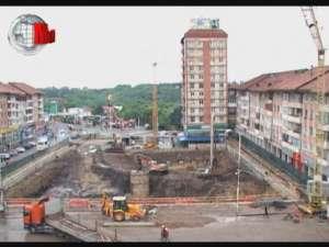 Parcările subterane din centrul Sucevei vor fi finalizate în 2012
