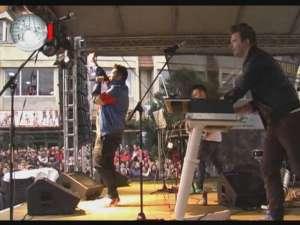 Aproximativ 2.500 de suceveni, în Burdujeni, la concertul Voltaj