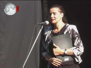 Maia Morgenstern, moment de intensă trăire sufletească, aseară, în Cetatea Sucevei