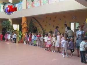 """Grădiniţa """"Sf. Ioan cel Nou"""" şi-a deschis porţile pentru aproape 160 de preşcolari"""