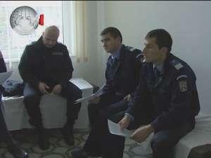 Jandarmii, mobilizaţi la Centrul de Transfuzii Suceava