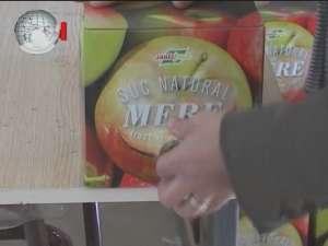Sucul natural de mere, o afacere pe care doi tineri o promovează cu succes