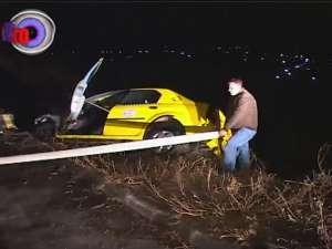 Accident provocat de un tânăr beat şi fără permis, care a furat un taxi
