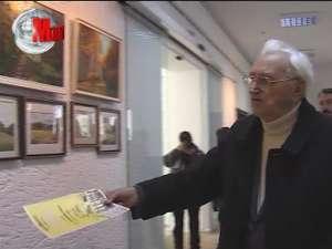 """Expoziţia de pictură """"Ţara Fagilor"""""""