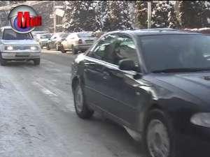 Patinoar pe străzile Sucevei