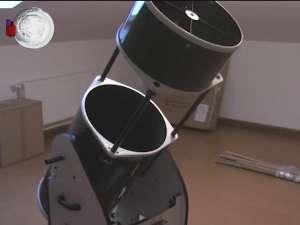 Cel mai mare telescop mobil din ţară, la Palatul Copiilor Suceava