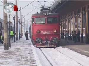 Trenurile spre Bucureşti de ieri dimineaţă au fost anulate