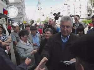 Ion Lungu s-a întâlnit ieri cu alegătorii din cartierul George Enescu