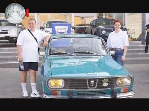 Start în turul Europei, cu Dacia din 1969
