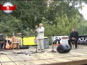 Actorul Ion Caramitru şi muzicianul Aurelian Octav Popa au deschis aseară a VI-a ediţie a Festivalului de Artă Medievală