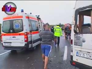 Microbuzul morţii: o persoană decedată şi 20 de răniţi, în această dimineaţă, la ieşirea din Stroieşti