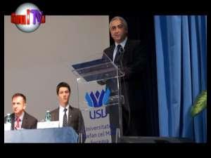 """Universitatea """"Ştefan cel Mare"""" şi-a deschis oficial cel de –al 50-lea an academic"""