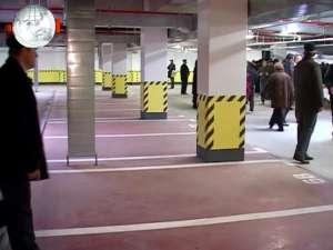 Primele parcări subterane din Suceava, date în folosinţă cu patru luni mai devreme