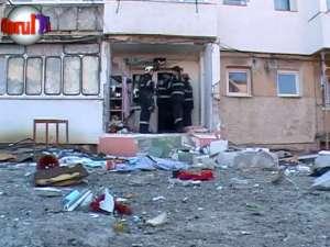 Explozie foarte puternică, de la acumulări de gaze, într-un bloc din Burdujeni