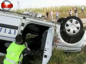 500.000 de euro, daune cerute în procesul accidentului mortal cu Logan-ul Poliţiei Rutiere