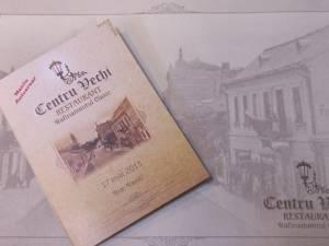 """""""Centru Vechi"""", noul restaurant inaugurat în apropierea Palatului Administrativ Suceava"""