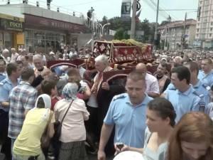 20.000 de credincioşi au participat la procesiunea de Sânziene