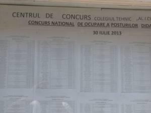 69 de candidaţi au absentat, iar alţi 23 s-au retras după ce au văzut subiectele, la examenul de titularizare în învăţământ