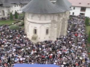 Mănăstirea Putna a fost şi anul acesta locul de pelerinaj pentru mii de credincioşi ortodocşi