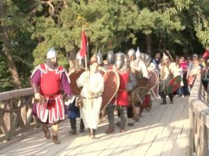 """Deschiderea oficială a celei de-a VII-a ediţii a Festivalului de Artă Medievală """"Ştefan cel Mare"""""""