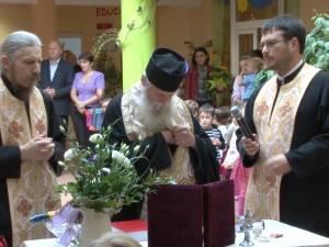 """160 de copii au început ieri cursurile Grădiniţei cu Program Prelungit """"Sfântul Ioan cel Nou"""""""