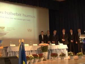 """Al 50-lea an de învăţământ superior la Suceava, deschis la Universitatea """"Ştefan cel Mare"""""""