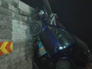 """Un şofer de 21 de ani a murit strivit de """"Zidul Morţii"""""""