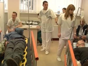 18 pacienţi cu traumatisme din cauza căderilor accidentale pe gheaţă, la Spitalul Suceava