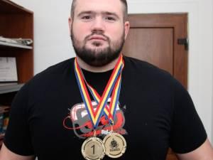 Suceveanul Gheorghe Ignat a trântit de saltea cu toţi adversarii la Campionatul naţional de Sambo