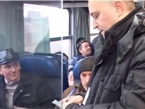 Supracontrol cu Poliţia în trenurile de navetă din Suceava