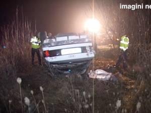 Un tânăr de 27 de ani a murit într-un accident petrecut duminică noapte, la Salcea