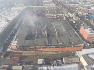 """Pagube de peste două milioane de euro, în incendiul de la """"Rozita"""""""