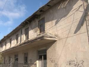 Incendiu la clădirea fostei Poşte CFR de la Iţcani, provocat intenţionat
