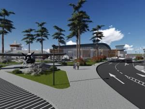 Aşa va arăta Aeroportul Suceava după finalizarea lucrărilor de modernizare
