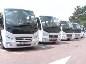 Noile microbuze care vor înlocui vechile maxi-taxi ale TPL au ajuns în Suceava