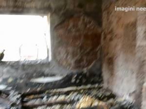 Incendiu la chiliile mănăstirii din Gheorghiţeni - Dorna Arini