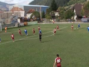 Bucovina Pojorâta a reuşit o victorie mare în faţa unei echipe de tradiţie, Rapid Bucureşti