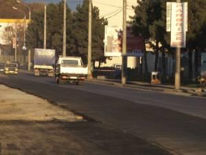 """Protest inedit al constructorilor ce refac strada Traian Vuia, """"înnebuniţi"""" de amenzile """"trântite"""" de Poliţia Rutieră"""