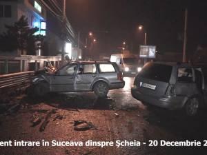 Ore negre pe şoselele din Suceava: 12 accidente unul după altul
