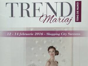 """Cele mai noi tendinţe, distracţie şi oferte imbatabile la Târgul de Nunţi """"Trend Mariaj"""""""